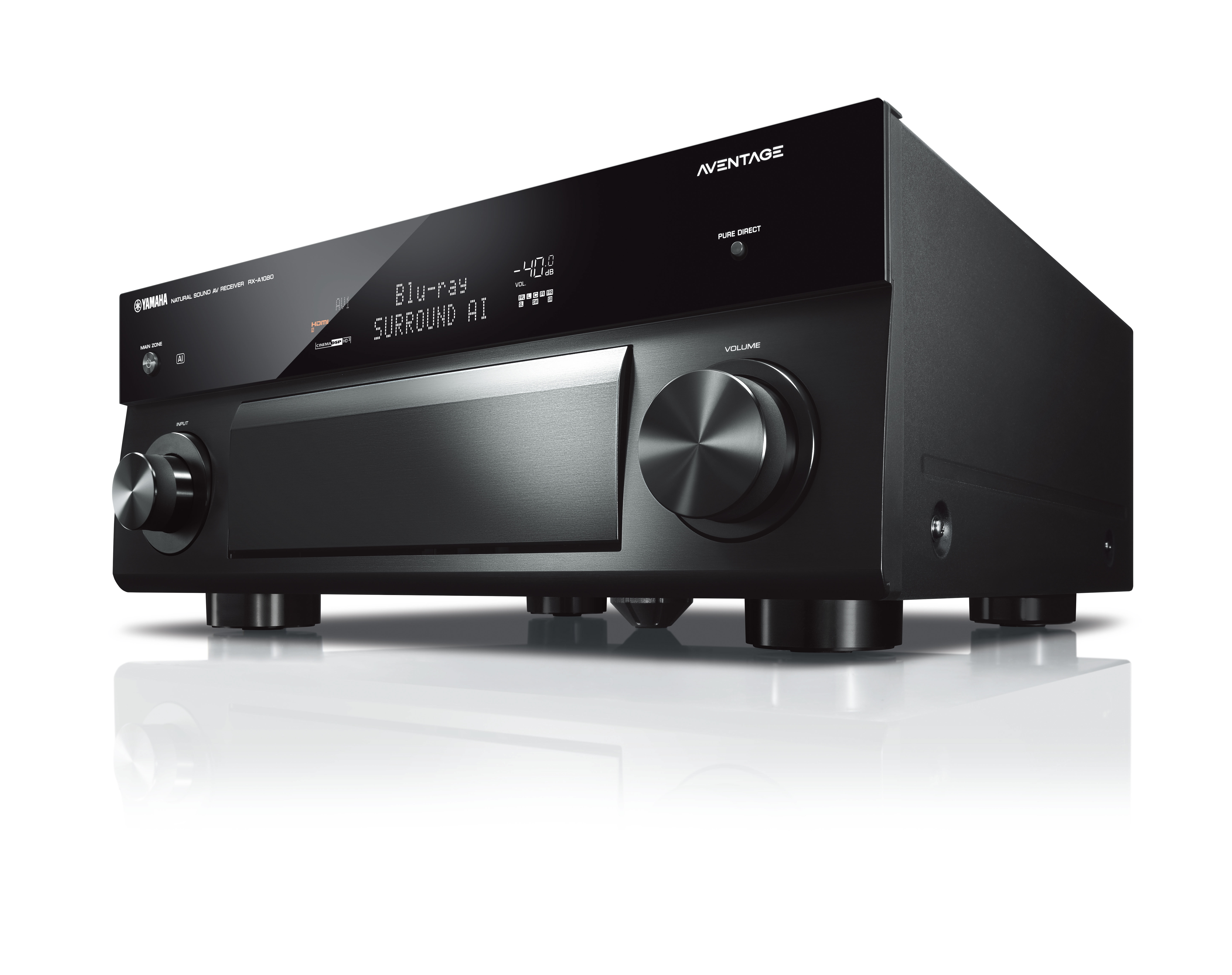 yamaha aventage av receiver rx a1080 rx a2080 und rx. Black Bedroom Furniture Sets. Home Design Ideas